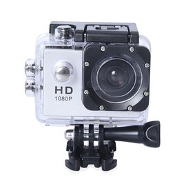 Super Auction - Waterproof 1080P HD Action Camera 120 Degree Wide Angle Lens with 400mAh Battery, 4G