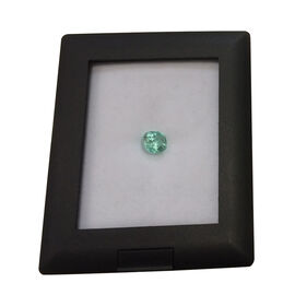 Boyaca Colombian Emerald (Cushion 6.8x6.6 Faceted 3A) 1.420 Ct.