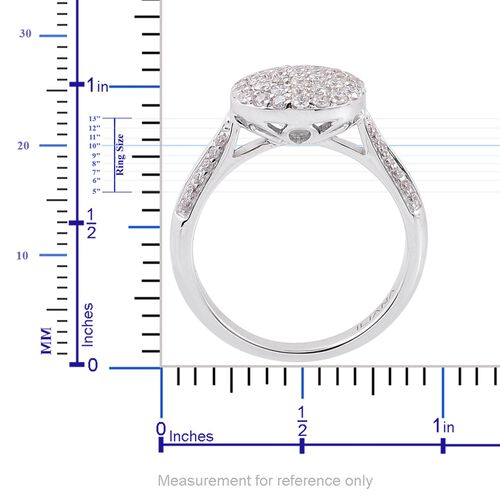 ILIANA 18K White Gold IGI Certified Diamond (Rnd), (SI/G-H) Ring 0.500 Ct.