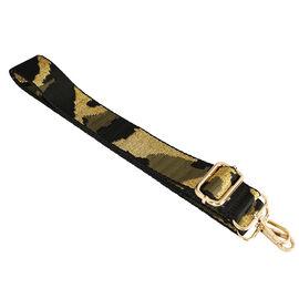 Kris Ana Camo Gold Detachable and Adjustable Bag Strap (L-120cm)
