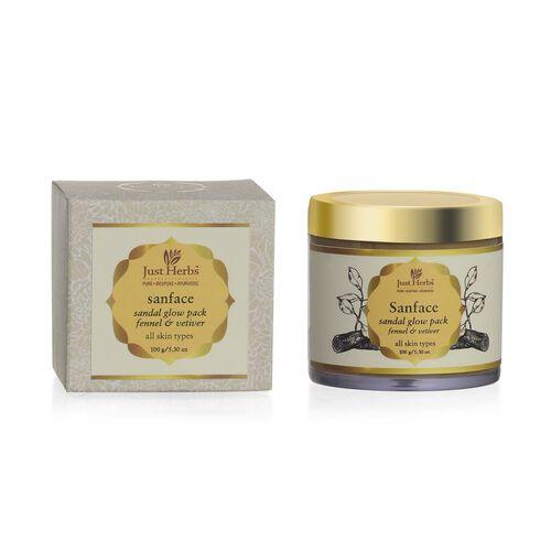 Just Herbs Sanface Sandal Glow Pack (150g)