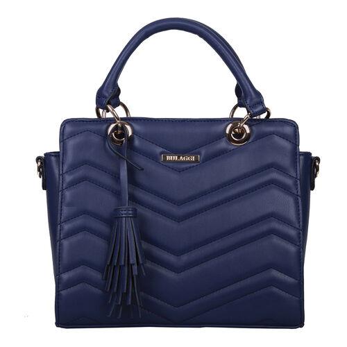 Bulaggi Collection- Calanthe Handbag (Size 27x23x10 Cm) - Dark Blue
