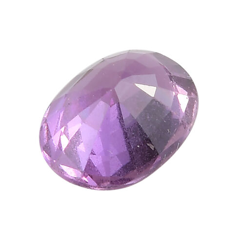 AAA Purple Sapphire Oval 8x6 Faceted 1.44 Cts