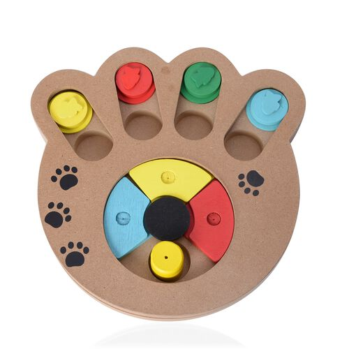 Multi Colour Pet IQ Training Toys (Size 24x23 Cm)