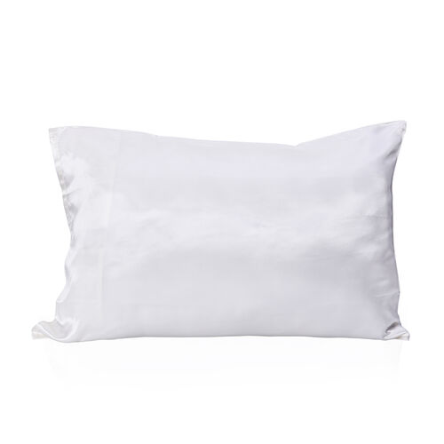 Serenity Night 100% Mulberry Silk Hyaluronic Acid and Argan Oil Infused Pillowcase (Size 50x75cm) -