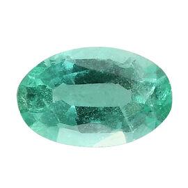 AA Boyaca Colombian Emerald Oval 5x3 mm 0.20 Ct.