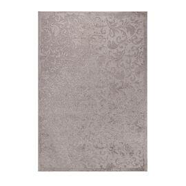 Vivaz Collection - Jaal- Damask Pattern Jacquard Carpet (Size 140x200 Cm) - Grey