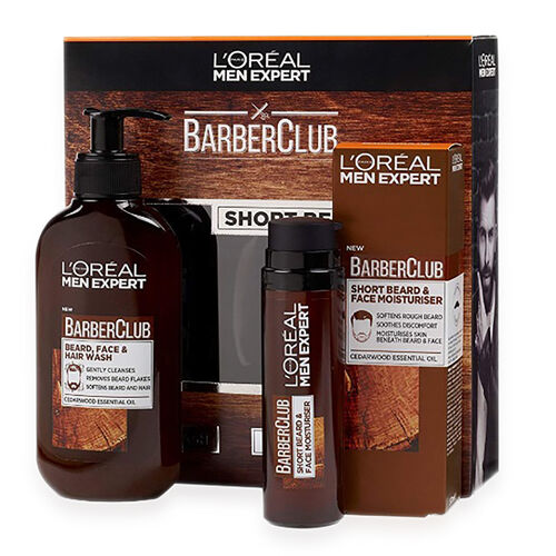 LOREAL Men Expert Barberclub Short Beard Kit Collection Christmas Gift Set For Him