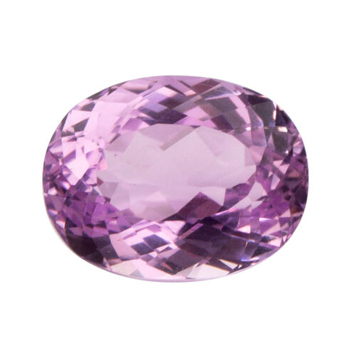 Kunzite (Oval 15.5x12 Faceted 3A) 12.210 Cts