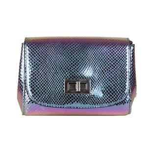 Bulaggi Collection - Fern Crossbody Bag with Twist Clasp Closure(Size 16x14x07 Cm) - Mint