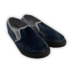Grey Slip On Womens Shoes (Size 3)