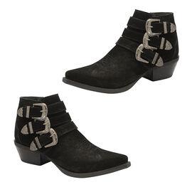 Ravel Black Black Colville Suede Ankle Boots
