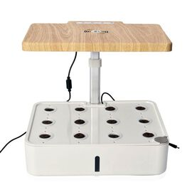 23W Intelligent Planter with EC Test Pen with Adjustable Lamp Height