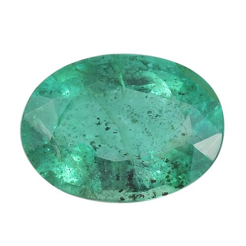 AA Emerald Oval Free Faceted 0.84 Cts