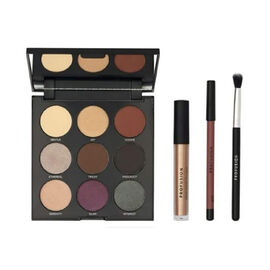 Profusion Cosmetics: Mixed Metals Eyes & Lips (Incl. 9 Eyeshadow Palette, Matte Lip Liner, Lip Creme