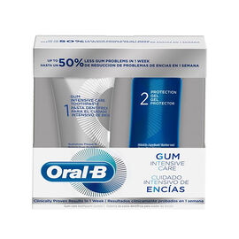 Oral B Gum Intensive Care Kit- 2 Piece (incl. Gum Intensive Care Toothpaste - 85ml & Protection Gel