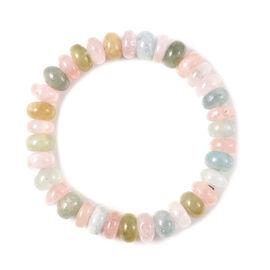 MP Beryl Stone Stretchable Bracelet (Size 6.5) 162.50 Ct.