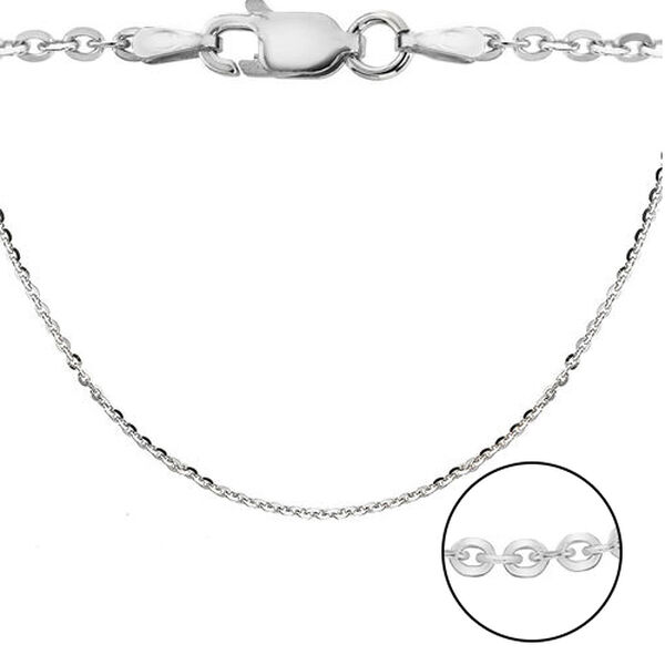Sterling Silver Trace Chain (Size 16), Silver wt 4.20 Gms
