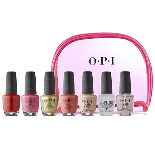 OPI: 7 Piece Nail Polish & Treatment Set (15ML) with Bag