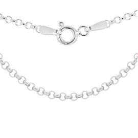 Sterling Silver Belcher Chain (Size 30), Silver wt 4.00 Gms