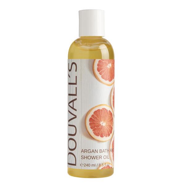 Douvalls: Organic Argan Bath & Shower Gel/Oil - 240ml