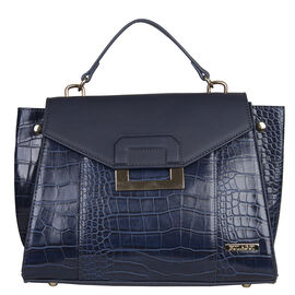 Bulaggi Collection -  Cynthia Handbag (Size 30x24x12) - Blue