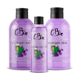 CB and CO Kir Royale Cocktail Set - Body Tonic, Body Lotion and Body Wash