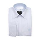 William Hunt Saville Row Forward Point Collar Light Blue Shirt Size 16.5