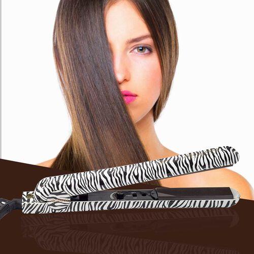 Magestic: 1.25 Hair Straightener (Size 27x3cm) - Platinum Zebra