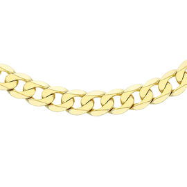 Hatton Garden Close Out 9K Yellow Gold Curb Chain (Size 20), Gold Wt. 21.48Gms