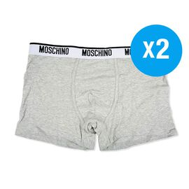 MOSCHINO Two-Pack Boxers in Grey