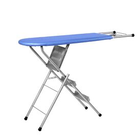 Multi-function Foldable Ironing Board with Step Ladder - Blue (Folding Size: 96x34cm) (Open Size: 12
