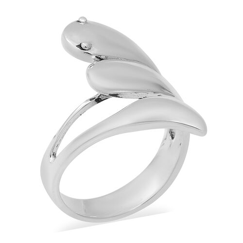 Criss Cross Ring in Sterling Silver 6.80 Grams