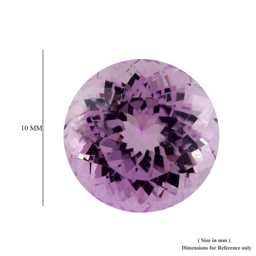AAA Kunzite Round 10 Faceted 4.46 Cts