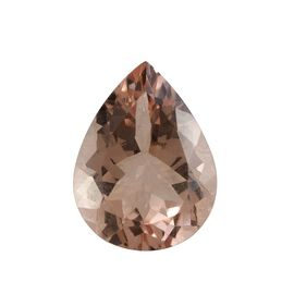 AAA Morganite Pear 16x12 Faceted 7.01 Cts