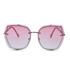 Eyecatcher Pink Sunglasses with Graduate Tinted Lens