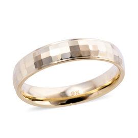 Royal Bali Collection - 9K Yellow Gold Band Ring, Gold wt 2.10 Gms