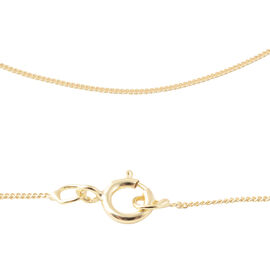 9K Yellow Gold Curb Chain (Size 18)