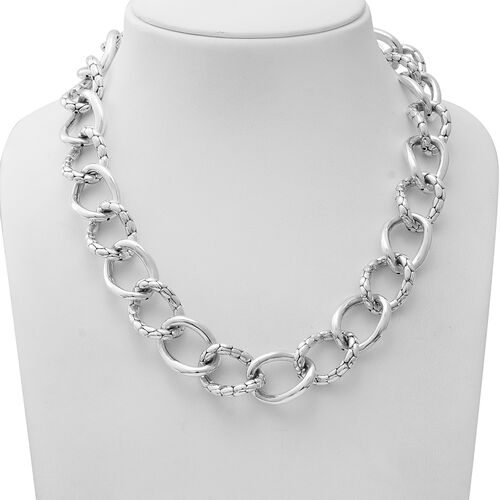Sterling Silver Necklace (Size 20), Silver wt 58.00 Gms