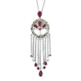RACHEL GALLEY 4.62 Ct Pendant with Chain in Sterling Silver 14.5 Grams