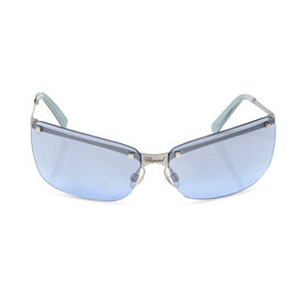 CHOPARD Eye Couture Sunglasses - 23k Gold Plated - Blue