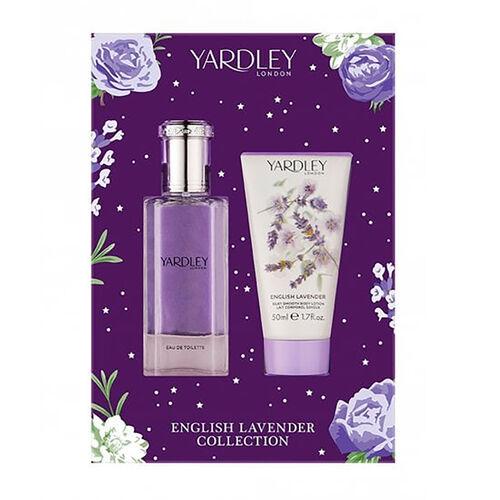 Yardley: Lavender Set (Incl. Eau De Toilette - 50ml & Body Lotion - 50ml)