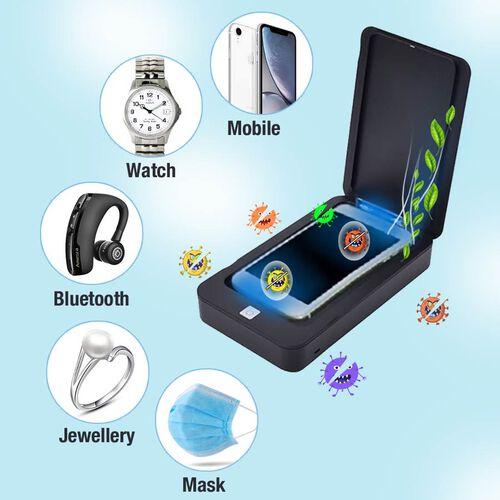 Portable 5V Multi-Function UV Light Steriliser - Black