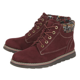 Lotus Sycamore Ankle Boot Burgundy