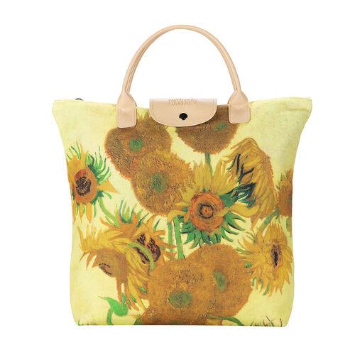 Signare Tapestry - Van Gogh Sunflower Foldaway Bag
