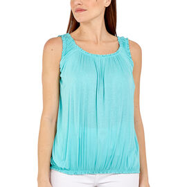 OTO - Nova of London Super Soft Balloon Vest in Turquoise (Size up to 18)