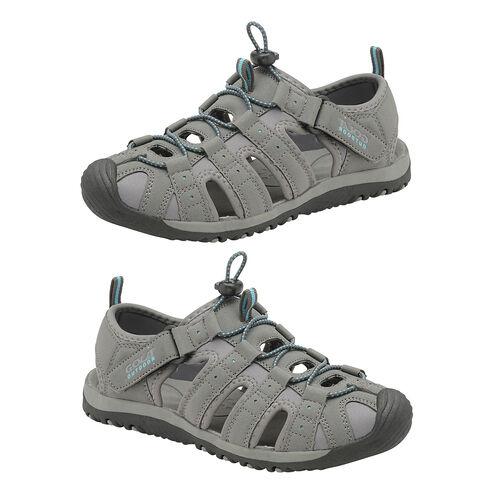 Gola Shingle 3 Closed Toe Sandal (Size 8) - Grey and Teal