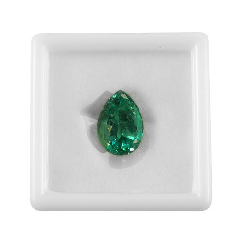 One of a Kind - GIA CERTIFIED AAA Colombian Emerald Size 29.55x21.03x14.57mm (Pear Cut) 47.16 Ct.
