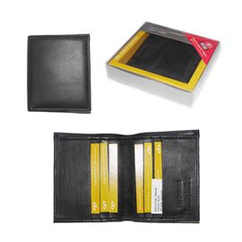 Close Out Deal 100% Genuine Leather RFID Blocking Mens Wallet (Size 8.5x10mm) - Bi Fold