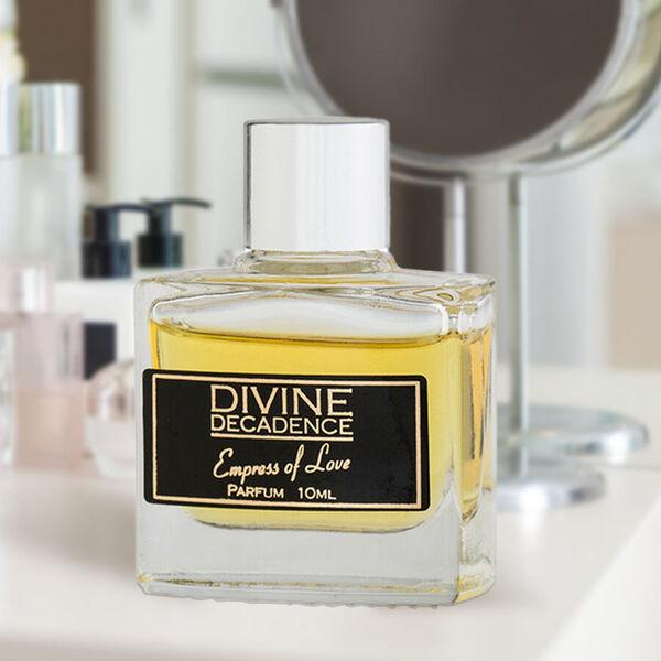 Divine Decadence Eau de Parfum Collection  5 x 10ml (Empress of Love, Leading Lady, Viva La Diva,  Aphrodites Desire & Goddess of Love)